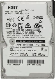 "Жесткий диск HDD 2.5"" 900 Gb HGST SAS HUC109090CSS600"